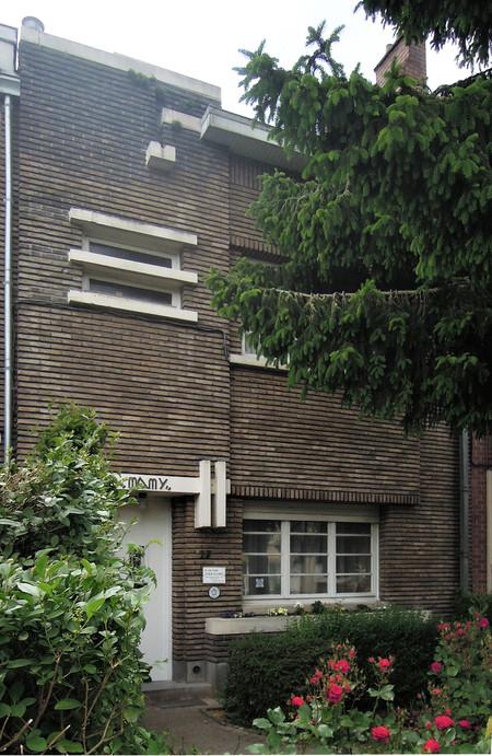 Villa Mamy, avenue de la Poésie 17, Anderlecht (© C. Dubois, photo 2020)