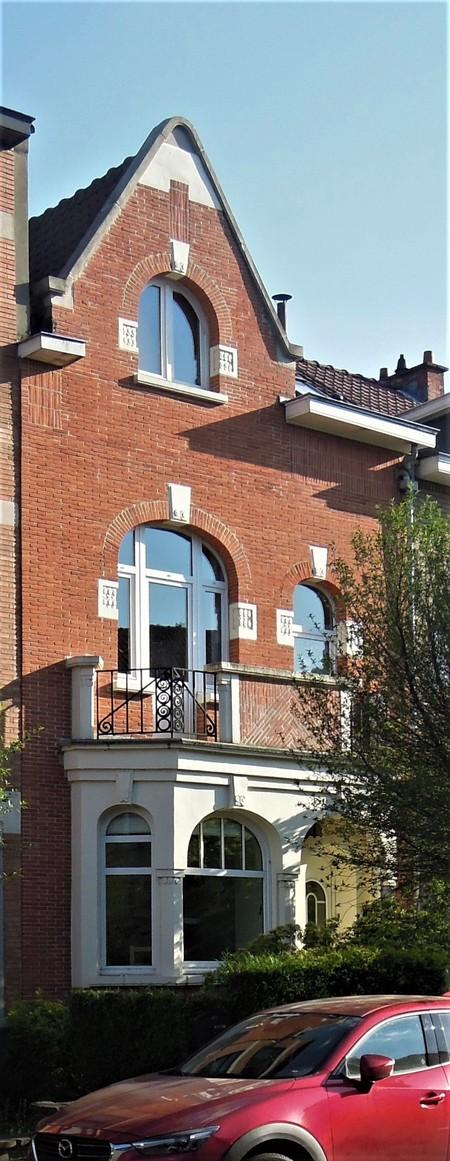 Avenue Jean Vanhaelen 20, Auderghem, élévation principale (© C. Dubois, photo 2020)