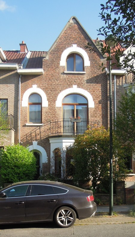 Avenue Jean Vanhaelen 24, Auderghem, élévation principale (© C. Dubois, photo 2020)