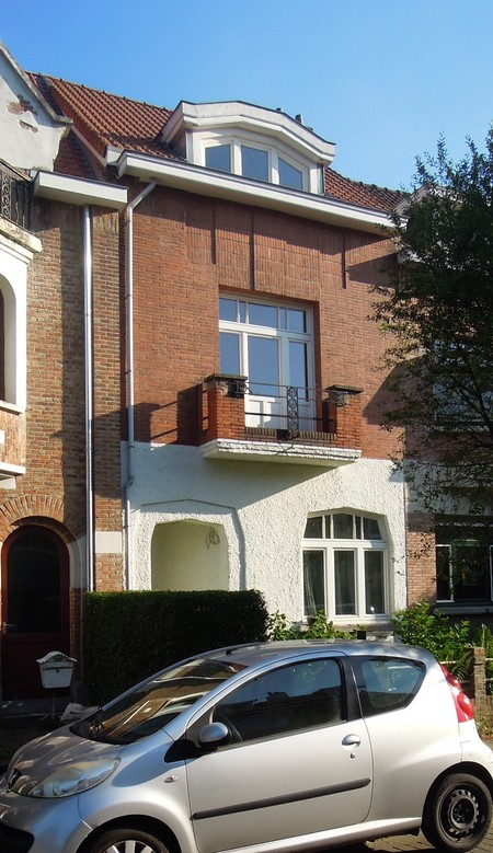 Avenue Jean Vanhaelen 28, Auderghem, élévation principale (© C. Dubois, photo 2020)