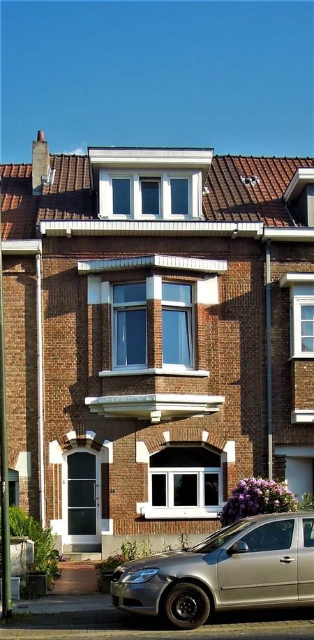 Avenue Jean Vanhaelen 36, Auderghem, élévation principale (© C. Dubois, photo 2020)