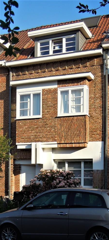 Avenue Jean Vanhaelen 38, Auderghem, élévation principale (© ARCHistory, photo 2020)