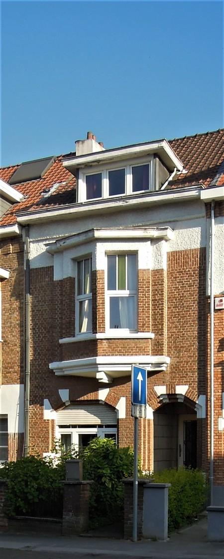 Avenue Jean Vanhaelen 40, Auderghem, élévation principale (© C. Dubois, photo 2020)