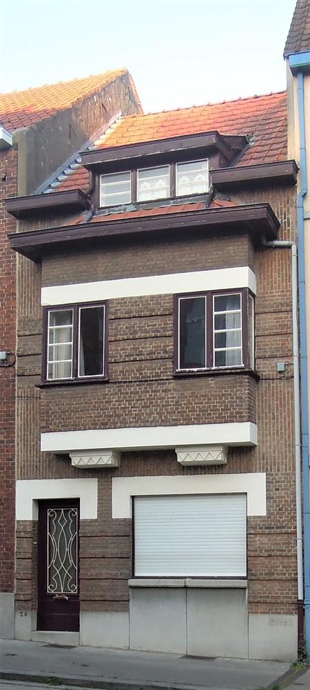 Rue Théodore Baron 24, Auderghem, élévation principale (© C. Dubois, photo 2020)