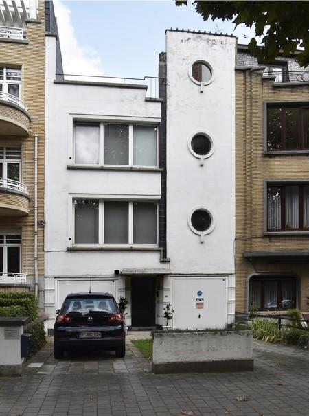 Avenue des Croix du Feu 301, Bruxelles Laeken, élévation principale (© ARCHistory/APEB, photo 2020)