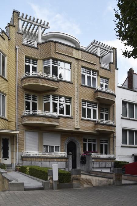 Avenue des Croix du Feu 303, Bruxelles Laeken, élévation principale (© ARCHistory/APEB, photo 2020)
