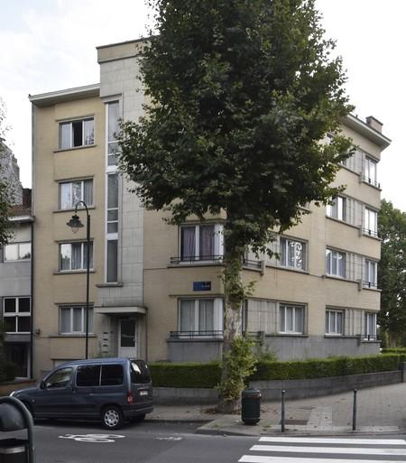 Rue De Wand 1, Bruxelles Laeken, élévation principale (photo ARCHistory/APEB © urban.brussels, photo 2018)