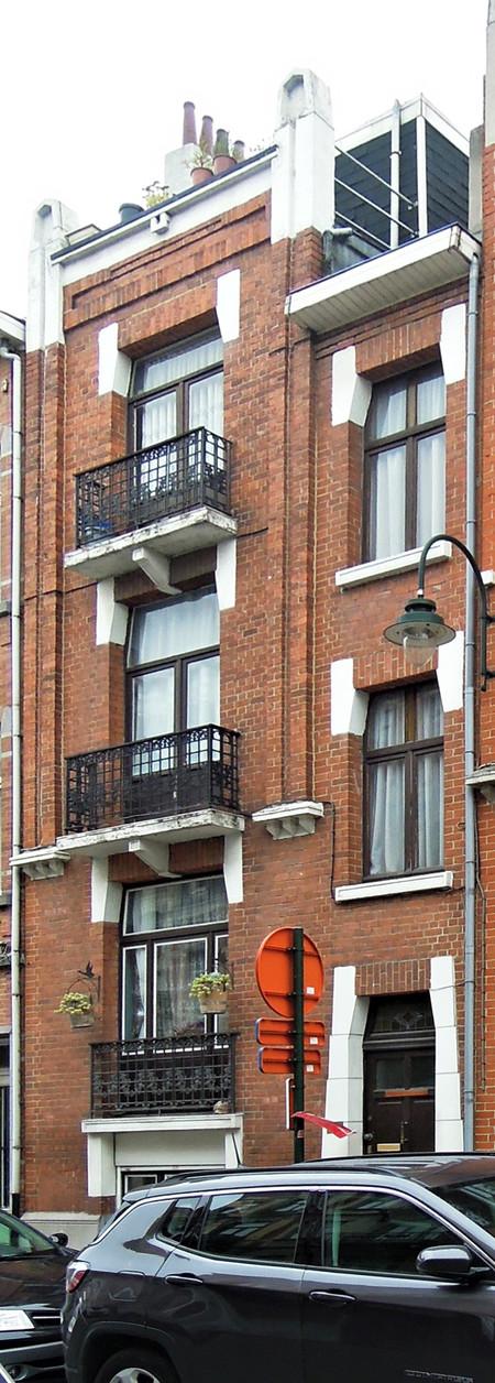Rue Edmond Tollenaere 98, Bruxelles Laeken (© C. Dubois, photo 2019)