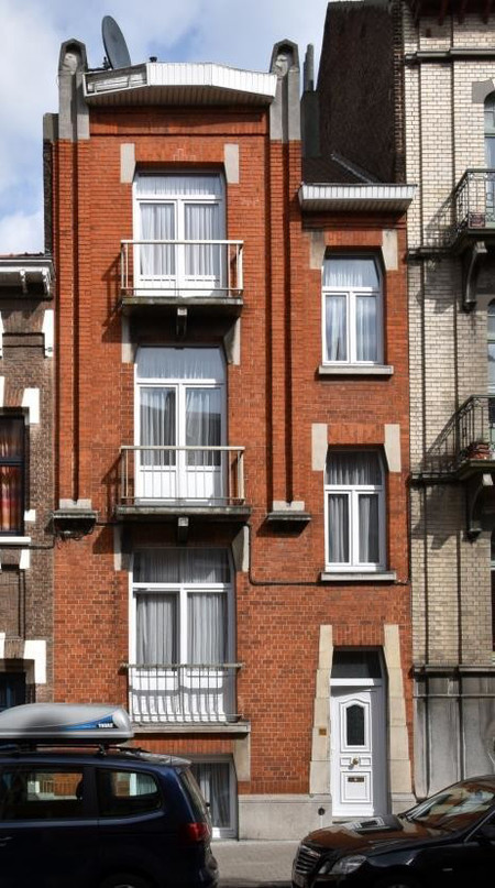 Rue Edmond Tollenaere 113, Bruxelles Laeken (photo ARCHistory/APEB © urban.brussels, 2017)