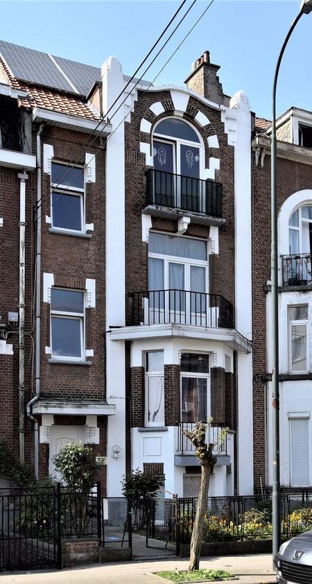 Rue Félix Sterckx 8, Bruxelles Laeken (photo ARCHistory/APEB © urban.brussels, photo 2018)