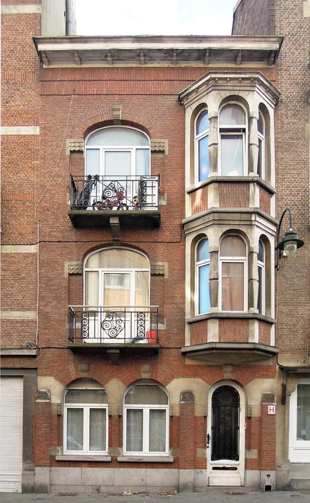 Rue Léopold Ier 166, Bruxelles Laeken (© C. Dubois, photo 2019)