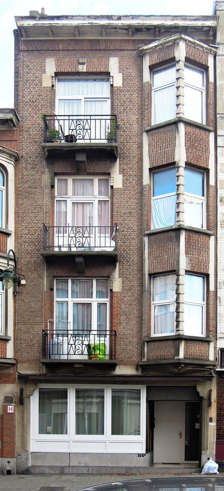 Rue Léopold Ier 166A, Bruxelles Laeken (© C. Dubois, photo 2019)