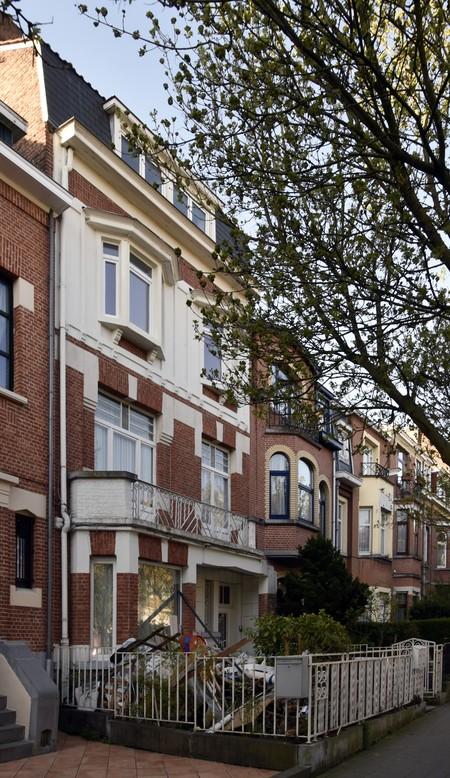 Rue Stuyvenbergh 40, Bruxelles Laeken, élévation principale (photo ARCHistory/APEB © urban.brussels, photo 2018)