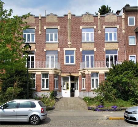 Square Prince Léopold 47, Bruxelles Laeken, élévation principale (© C. Dubois, photo 2019)