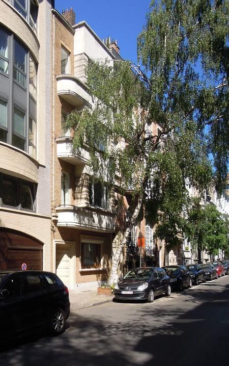 Rue Berkendael 92, Forest, élévation (© C. Dubois, photo 2020)