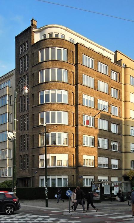 Avenue de l'Université 106, Ixelles (© C. Dubois, photo 2020)