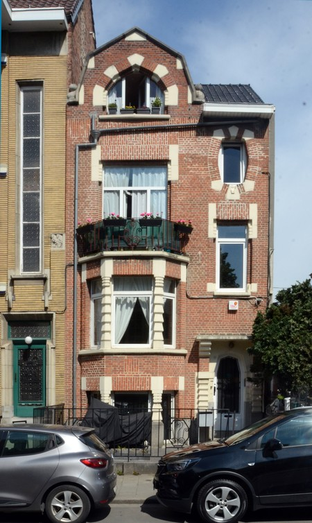 Rue Léopold Ier 365, Jette, élévation principale (© ARCHistory/APEB, photo 2020)