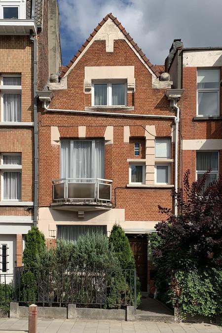 Rue Léopold Ier 353, Jette, élévation principale (© M. Minneci, photo 2020)