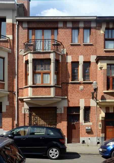 Rue des Augustines 101, Jette, élévation principale (© ARCHistory/APEB, photo 2020)