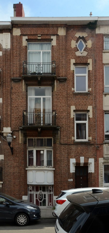 Rue des Augustines 110, Jette, élévation principale (© ARCHistory/APEB, photo 2020)