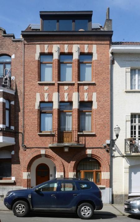Rue des Augustines 69, Jette, élévation principale (© ARCHistory/APEB, photo 2020)
