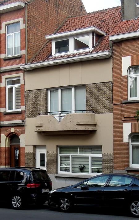 Rue de la Loyauté 5, Jette, élévation principale (© C. Dubois, photo 2020)