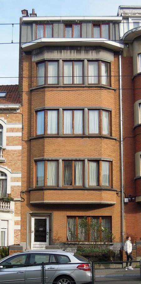 Avenue Charles Woeste 108, élévation principale (© C. Dubois, photo 2020)