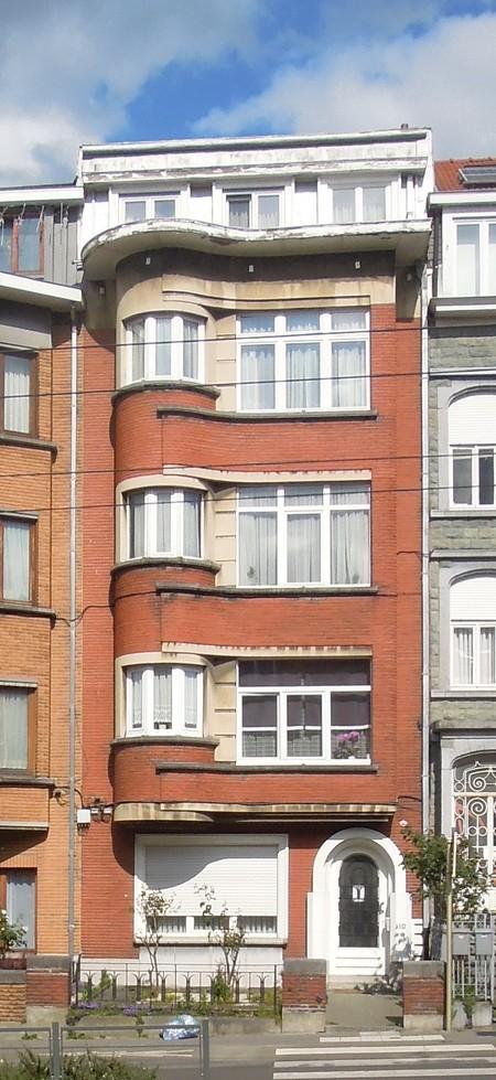 Avenue Charles Woeste 110, élévation principale (© C. Dubois, photo 2020)