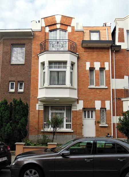 Rue Louis Socquet 59, Schaerbeek, élévation principale (© C. Dubois, photo 2020)