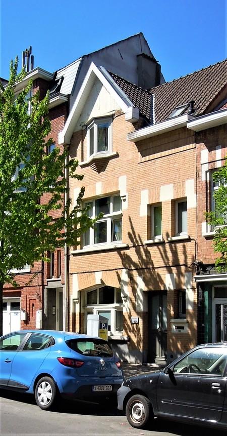 Avenue Milcamps 144, Schaerbeek, élévation principale (© C. Dubois, photo 2020)