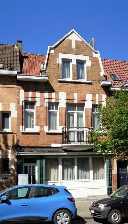 Avenue Milcamps 146, Schaerbeek, élévation principale (© C. Dubois, photo 2020)