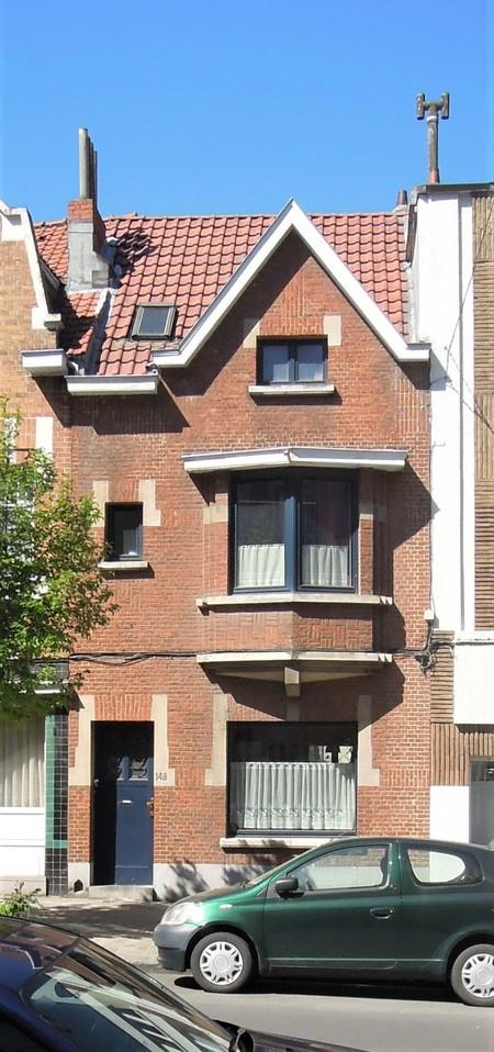 Avenue Milcamps 148, Schaerbeek, élévation principale (© C. Dubois, photo 2020)