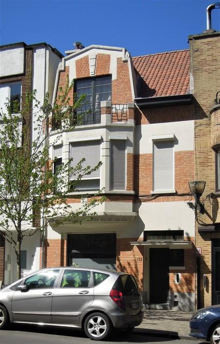 Avenue Milcamps 152, Schaerbeek, élévation principale (© C. Dubois, photo 2020)