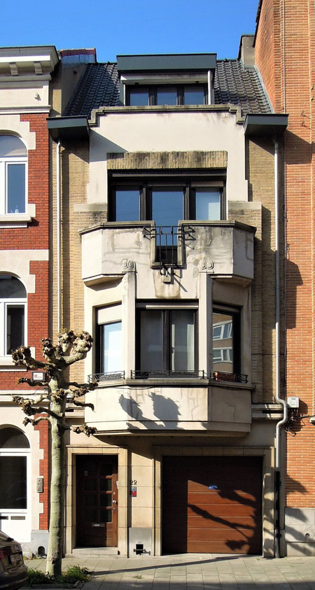 Rue du Saphir 22, Schaerbeek (© C. Dubois, photo 2020)
