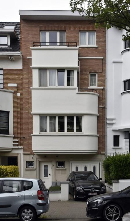 Avenue Coghen 26, Uccle, élévation (© ARCHistory/APEB, photo 2020)