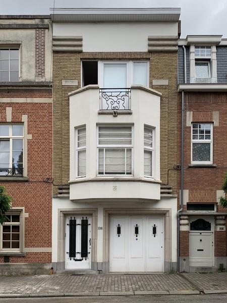 Rue Gabrielle 106, Uccle, élévation (© M. Minneci, photo 2020)