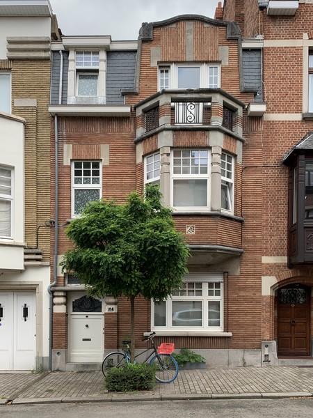 Rue Gabrielle 108, Uccle, élévation (© M. Minneci, photo 2020)