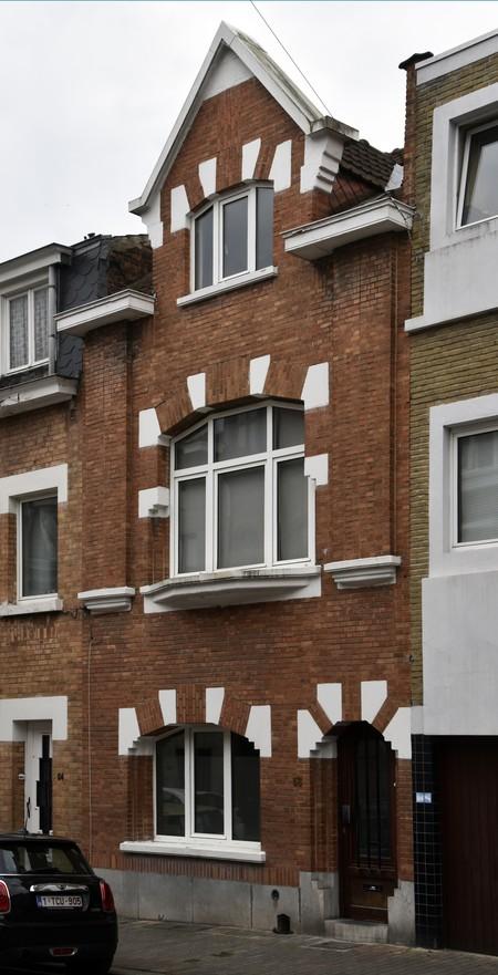 Rue des Glaïeuls 56, Uccle, élévation (© ARCHistory/APEB, photo 2020)