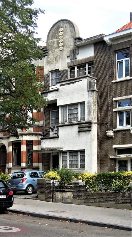 Avenue Gounod 38A, Anderlecht, élévation principale (© C. Dubois, photo 2020)