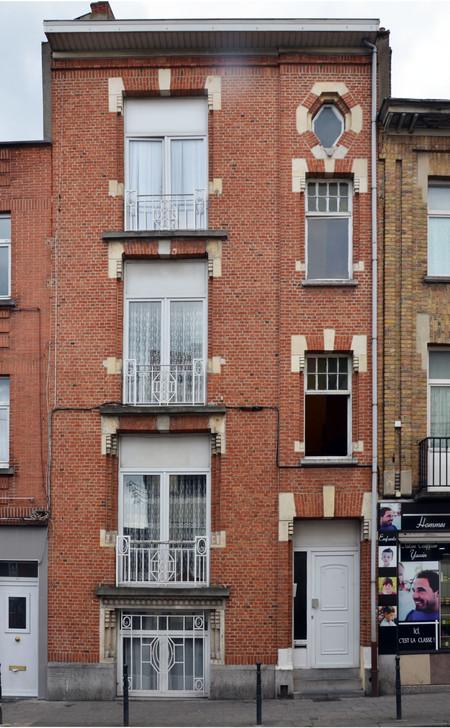 Rue Léopold Ier 244, Bruxelles Laeken (photo ARCHistory/APEB, photo 2017)