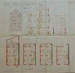 Rue Émile Delva 41, Bruxelles Laeken, élévations, coupe, plans, AVB/TP 51971, 1927