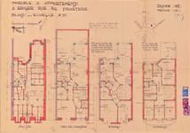 Rue de Praetere 26, Ixelles, plans, ACI/Urb. 92/26, 1933