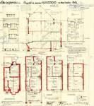 Rue Remy Soetens 6, Jette, élévations, coupe, plans, ACJette/Urb. 7218, 1933
