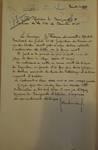 Rue du Cloître 71, Bruxelles Laeken, lettre de demande du commanditaire (G. Fridman) à la Ville de Bruxelles pour la construction d'une maison, AVB/TP 53663, 1923
