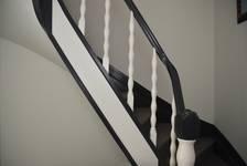 Avenue Coghen 28, Uccle, rampe de la cage d'escalier (© ARCHistory/APEB, photo 2020)