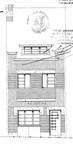Rue Théodore Baron 24, Auderghem, élévation principale, ACAud./Urb. 3443, 1932