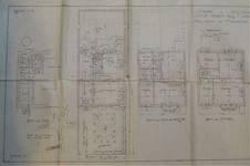 Avenue Prudent Bols 91, Bruxelles Laeken, plans, AVB/TP 42866, 1922