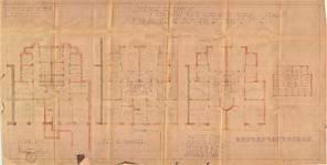 Place Constantin Meunier 21, Forest, plans, ACF/Urb. 13029, 1936
