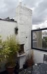 Avenue Coghen 68, Uccle, barbecue intégré sur la terrasse (© ARCHistory/APEB, photo 2020)