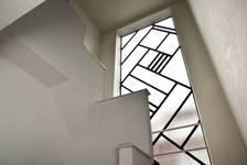 Rue de la Seconde Reine 5, Uccle, cage d'escalier et verrière (© ARCHistory/APEB, photo 2020)